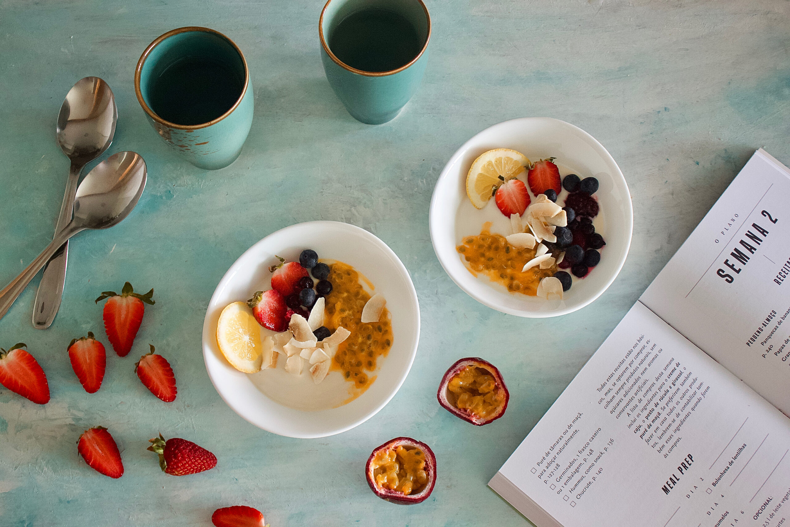 Zest and The City - Bowl with Yogurt and Fruit